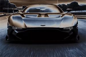 Aston Martin Vulcan Track Video