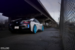 BMW i8 with PUR 4OUR Wheels by SR Auto Group