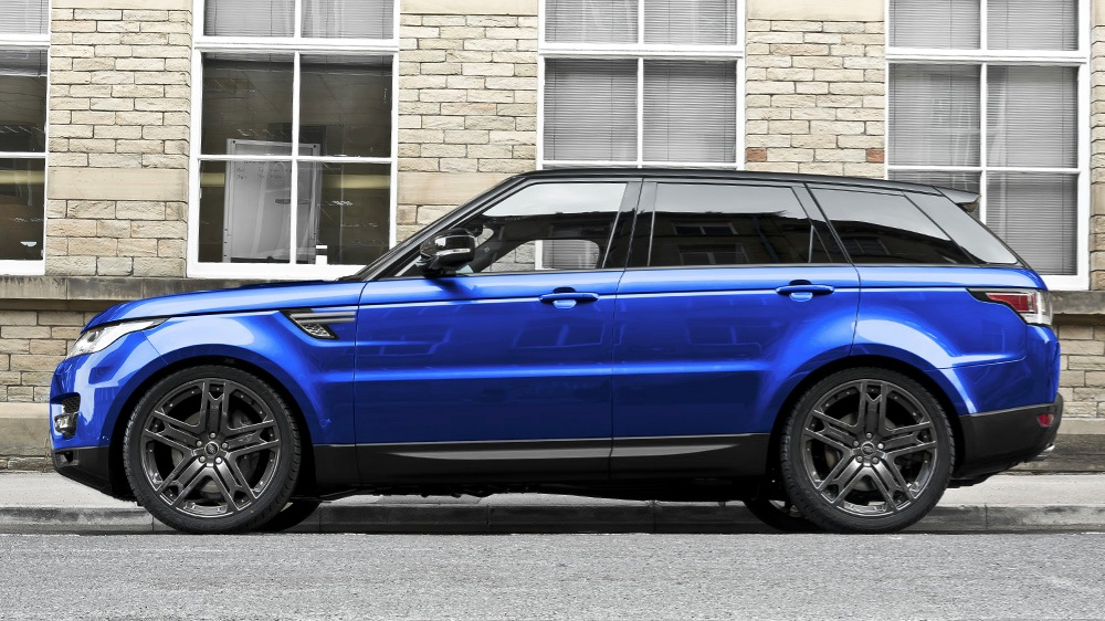 Project Kahn Range Rover Sport HSE Colors of Kahn Edition
