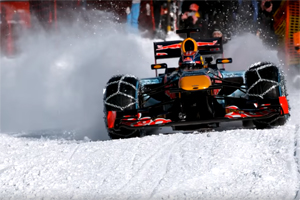 Red Bull Racing RB7 Ski Slopes