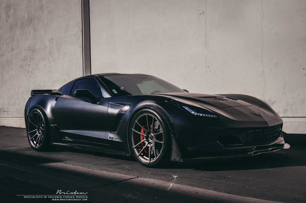 Chevrolet Corvette Z06 with Brixton Forged M53 Monaco Series Wheels