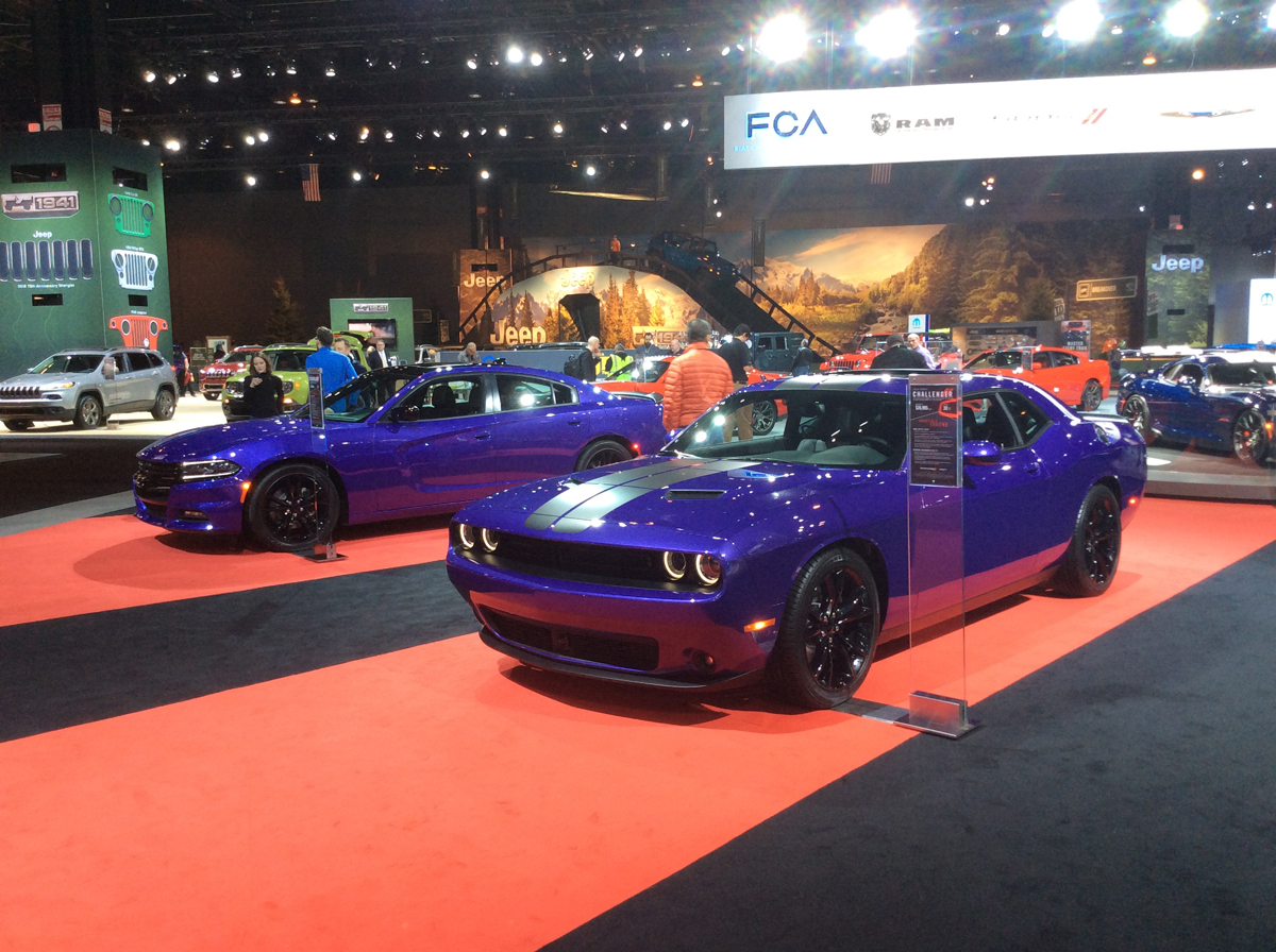 Dodge at 2016 Chicago Auto Show