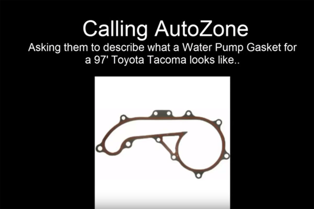Prank Phone Call AutoZone