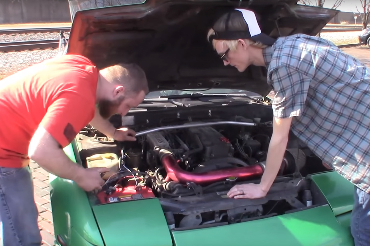 Muscle vs. Tuner Nissan 240SX