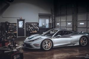 Ferrari 458 Speciale with Brixton Forged CM16 Targa Series wheels