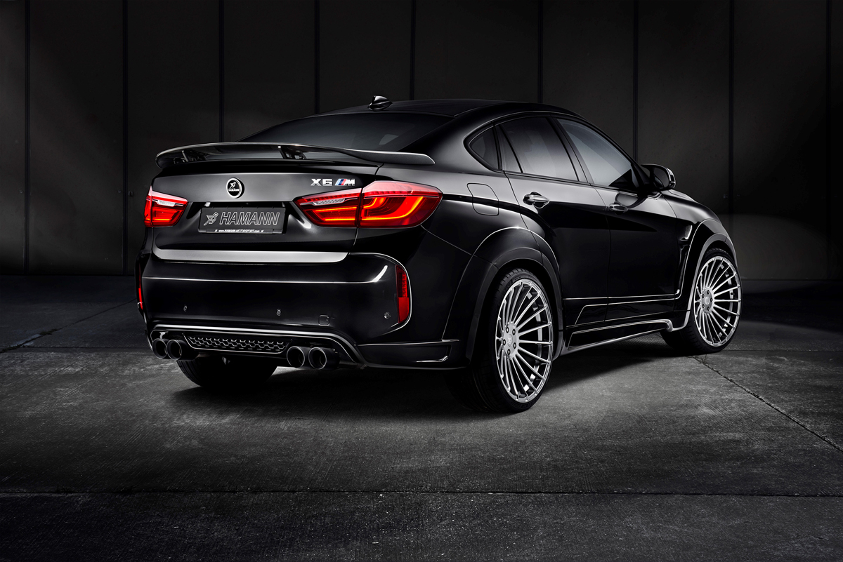hamann motorsports goes big with the bmw x6 m. Black Bedroom Furniture Sets. Home Design Ideas