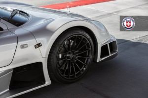 Mercedes-Benz CLK GTR with HRE P103 Forged Wheels (3)