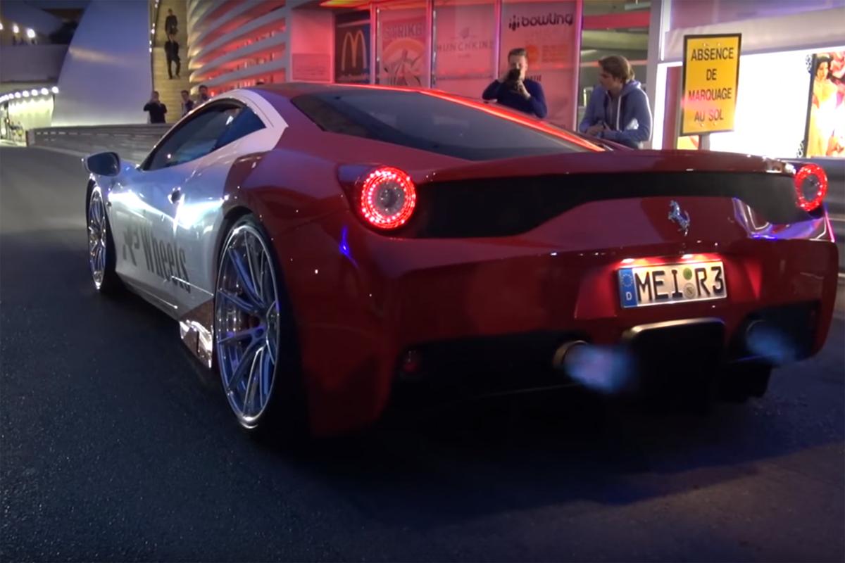 Ferrari 458 Speciale Fi Exhaust