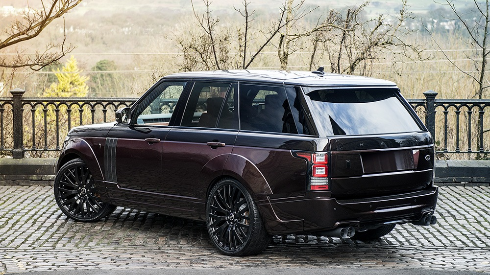 Project Kahn Black Kirsch over Madeira Red Range Rover RS Pace Car