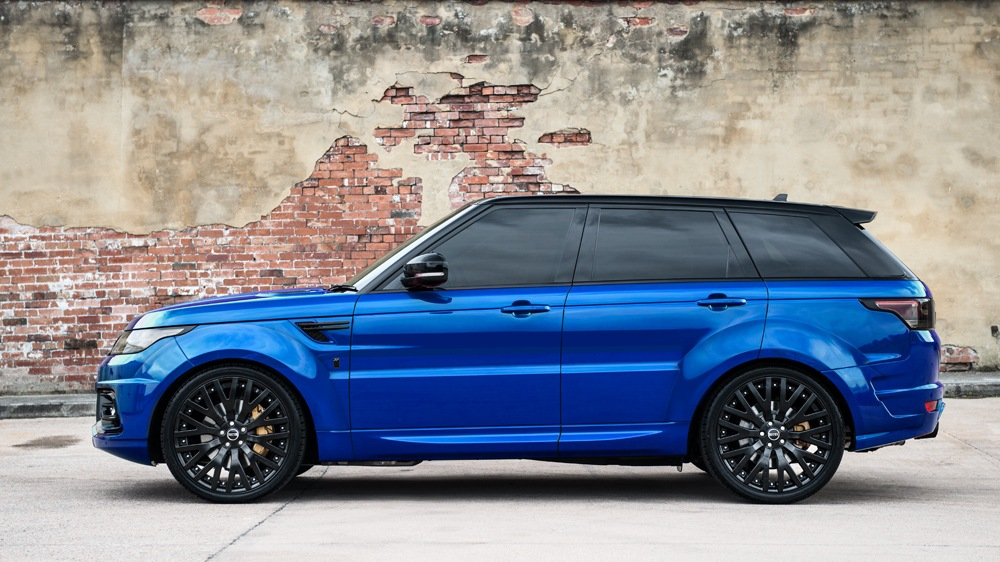 The Project Kahn Imperial Blue Range Rover Sport Rs Is A