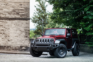 Jeep Wrangler Black Hawk Wide Track