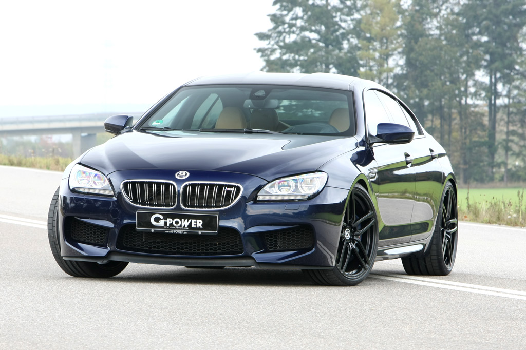 g power gets serious with the bmw m6 gran coupe. Black Bedroom Furniture Sets. Home Design Ideas