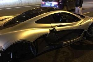 McLaren P1 Crash in China