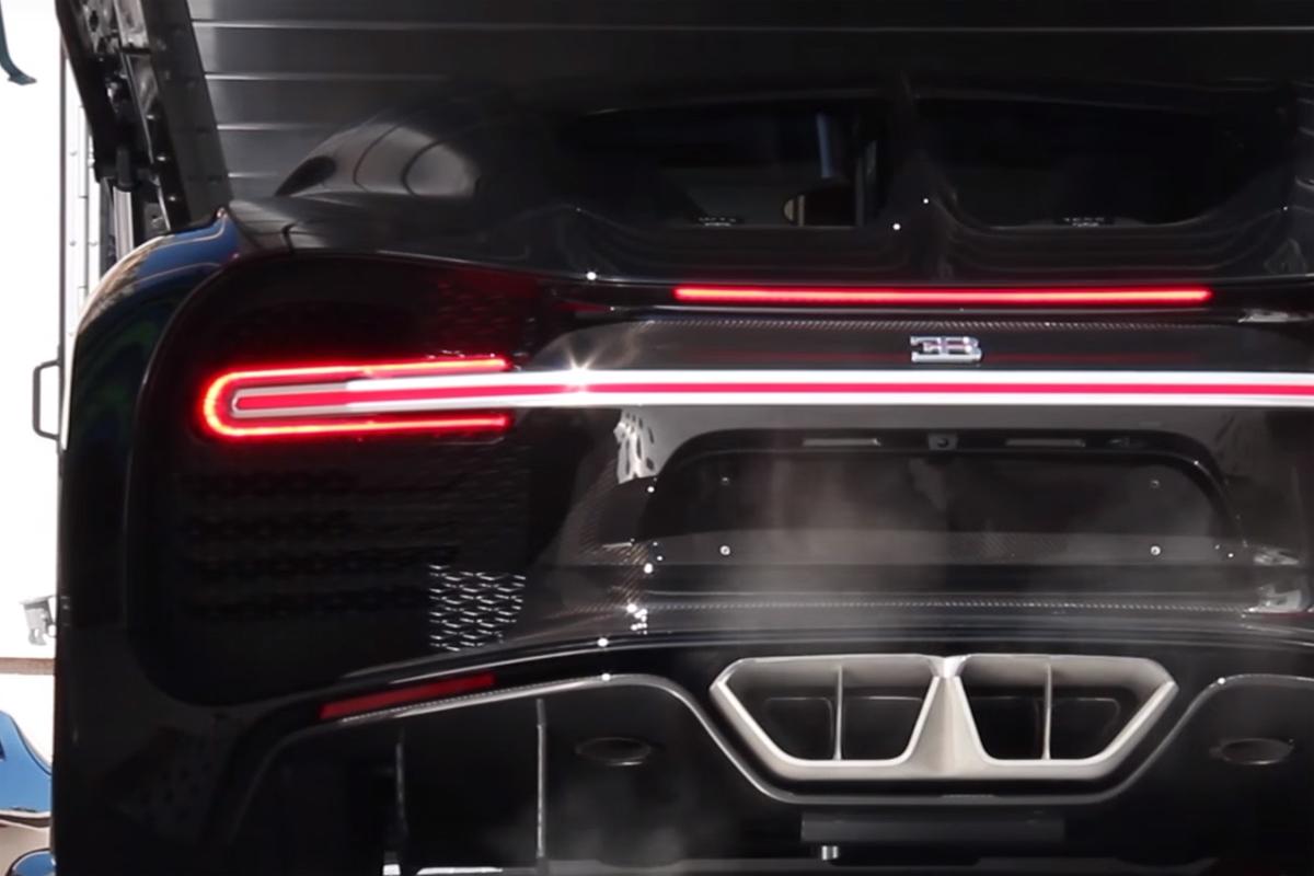 Bugatti Chiron Delivery