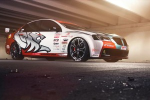 Pontiac G8 GT Holden with Fondmetal 9XR Wheels