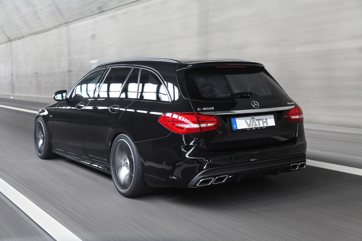 VAETH Makes the Mercedes-Benz C450 AMG a bit more AMG