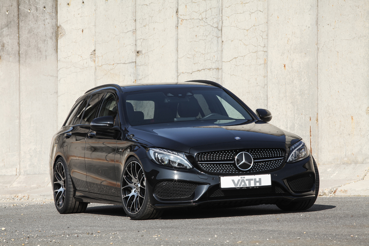 vaeth makes the mercedes benz c450 amg a bit more amg