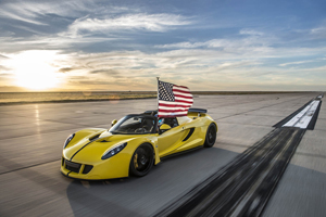 Venom GT Spyder World Recor