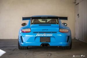997.2 Porsche 911 GT3 with Vorstiner V-FF 101 Flow Forged wheels
