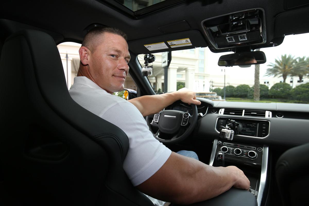 Invictus Games John Cena Range Rover Sport SVR