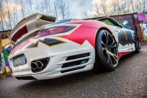 TIP-Exclusive Porsche 911 Turbo Cabriolet Art Car