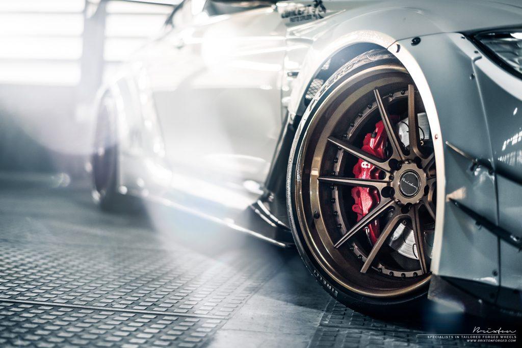 Varis Widebody BMW M4 with Brixton Forged M51 Targa Series Wheels