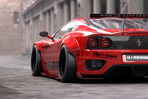 Liberty Walk Ferrari 360