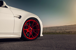Vorsteiner Candy Red V-FF 103 Wheels