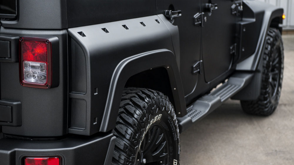 Chelsea Truck Company Jeep Wrangler CJ300 Black Hawk Edition