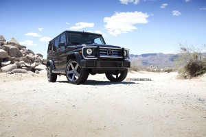 Mercedes-Benz G-Class Fondmetal STC02 Wheels Atturo Tires