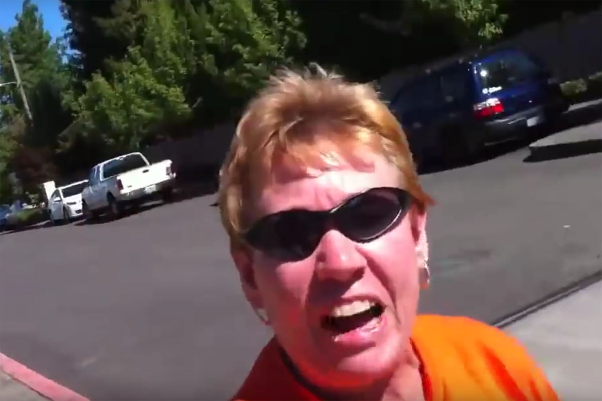 Lady Flips out over Subaru WRX STI