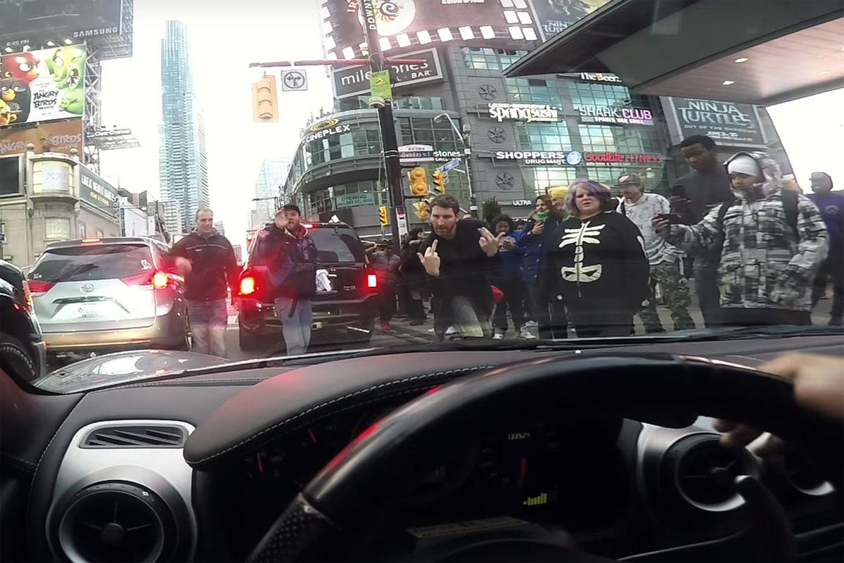 Hit Door Ferrari Toronto