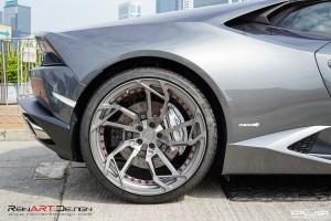 ReinART Design Lamborghini Huracan with PUR RS05.M2 forged wheels