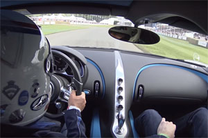 Bugatti Chiron Goodwood Festival of Speed POV