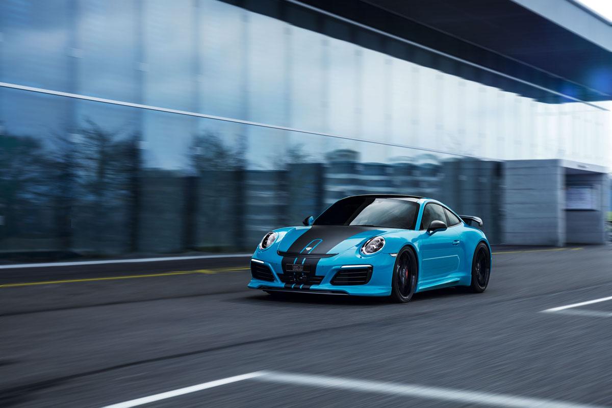 TechArt 991.2 Porsche 911 Carrera S Powerkit