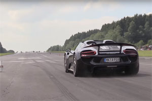 10-Second Porsche 918 Spyder