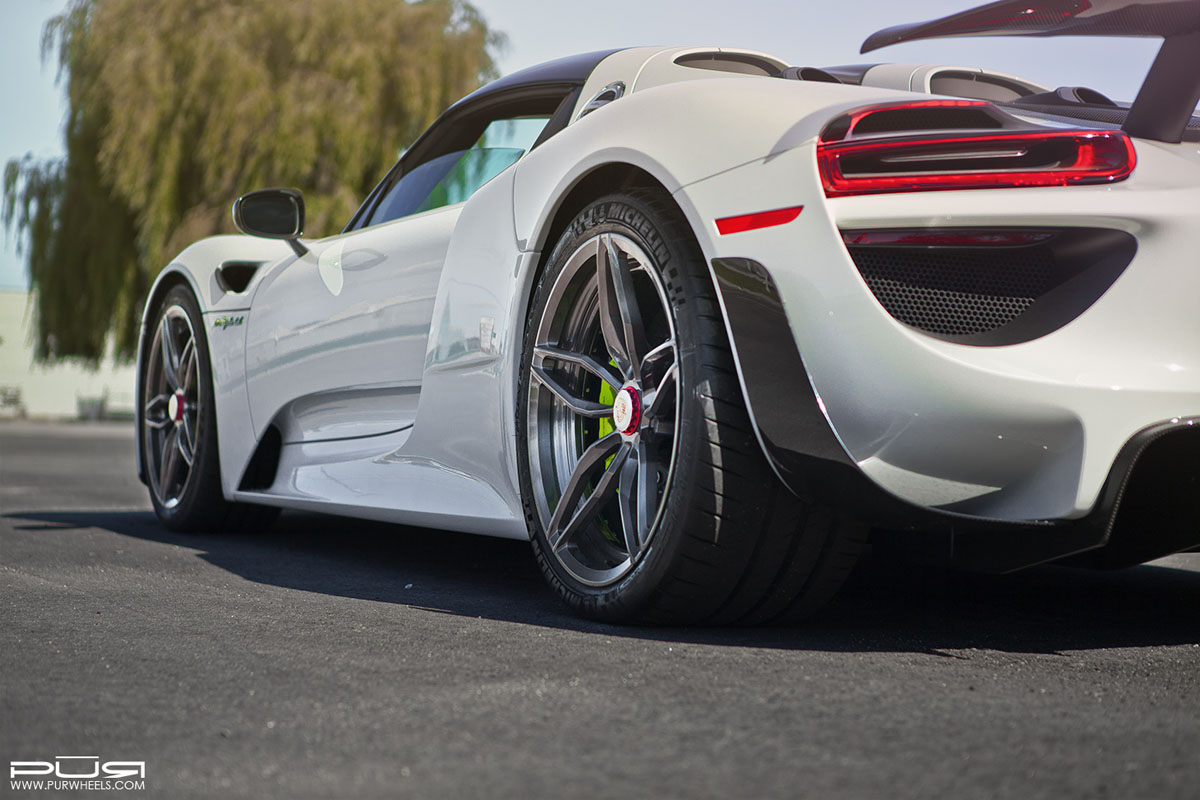 featured fitment porsche 918 spyder with pur rs23 m2. Black Bedroom Furniture Sets. Home Design Ideas