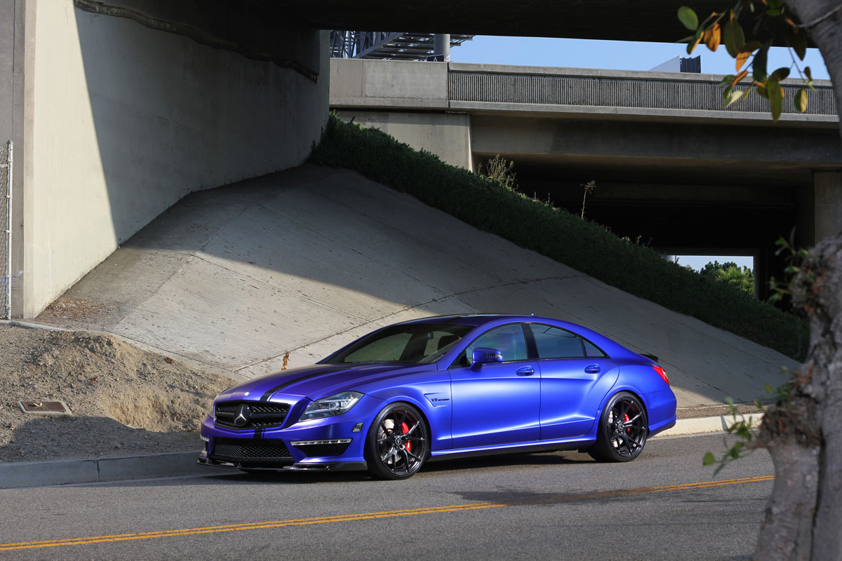 Mercedes-AMG CLS63 with Vorsteiner V-FF 103 Wheels