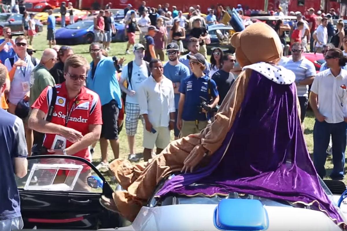 Bert the Bear Pagani Zonda Monza