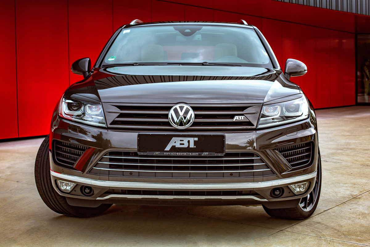 abt sportsline gives the vw touareg tdi more brute force. Black Bedroom Furniture Sets. Home Design Ideas