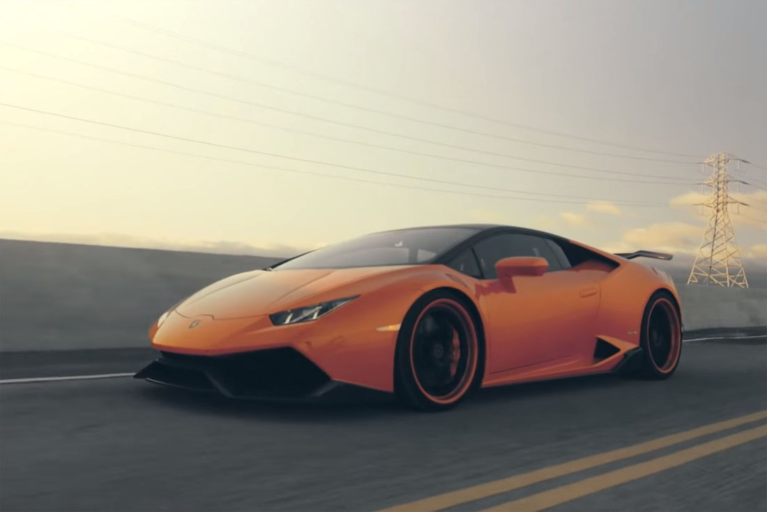 listen to this lamborghini hurac n with an ipe exhaust. Black Bedroom Furniture Sets. Home Design Ideas