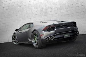 Lamborghini Huracan with Brixton Forged S60 Targa Series wheels