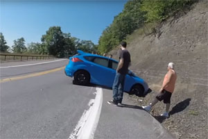 Friday FAIL: Ford Focus RS Drift Mode Crash