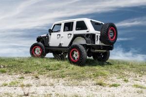 Starwood Motors Jeep Wrangler with Center Line RT1X Wheels