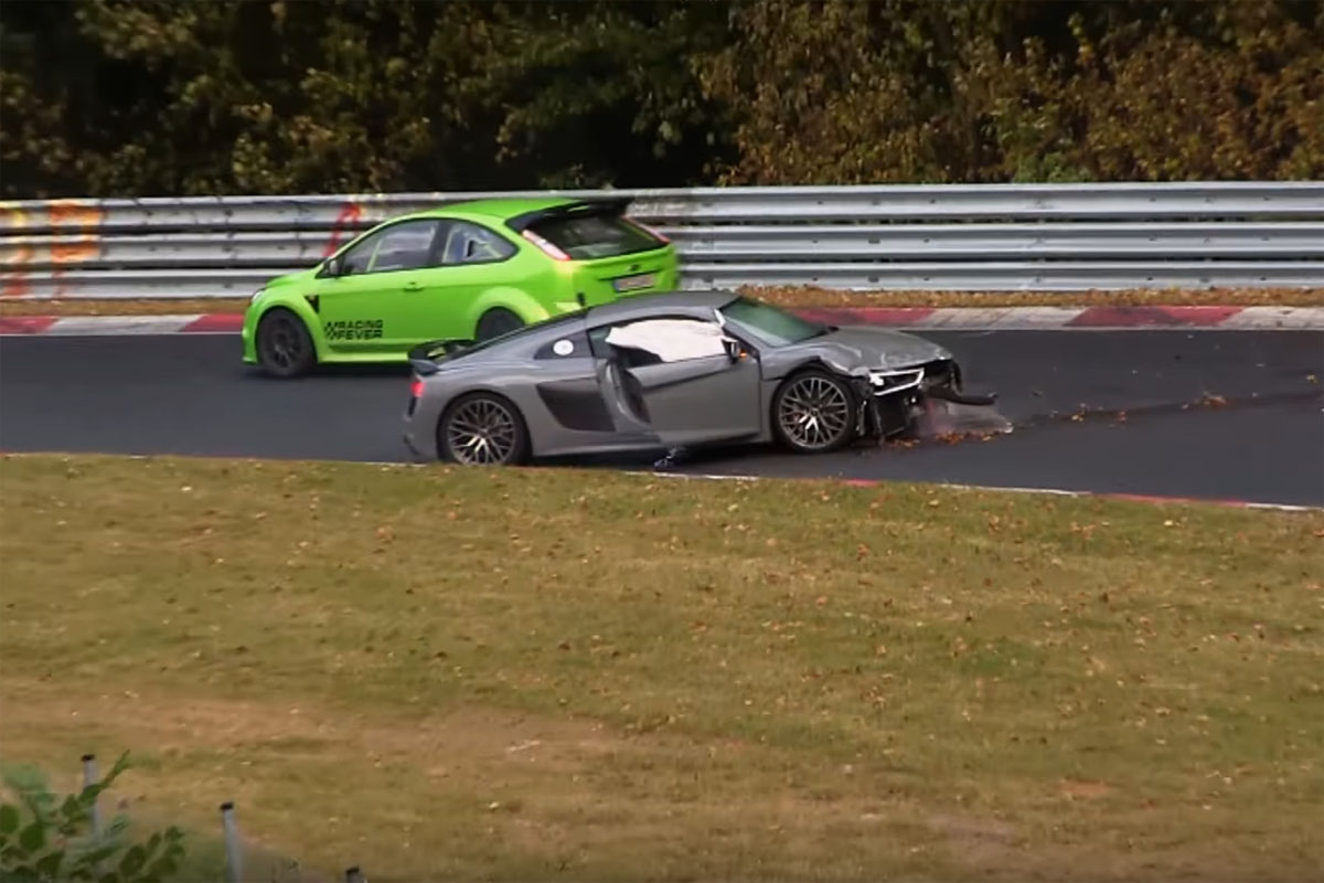 Nürburgring Nordschleife Crash Video Compilation