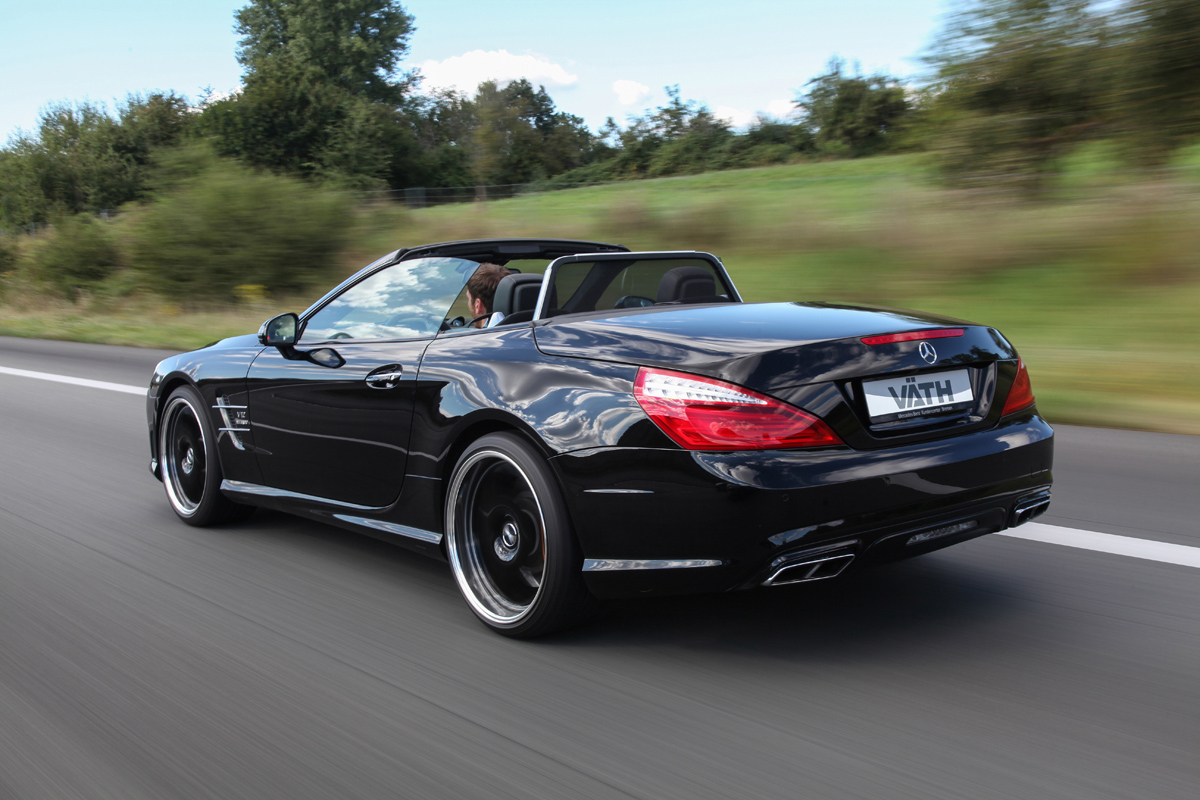 get loads of power with the v th mercedes amg sl 65 roadster. Black Bedroom Furniture Sets. Home Design Ideas