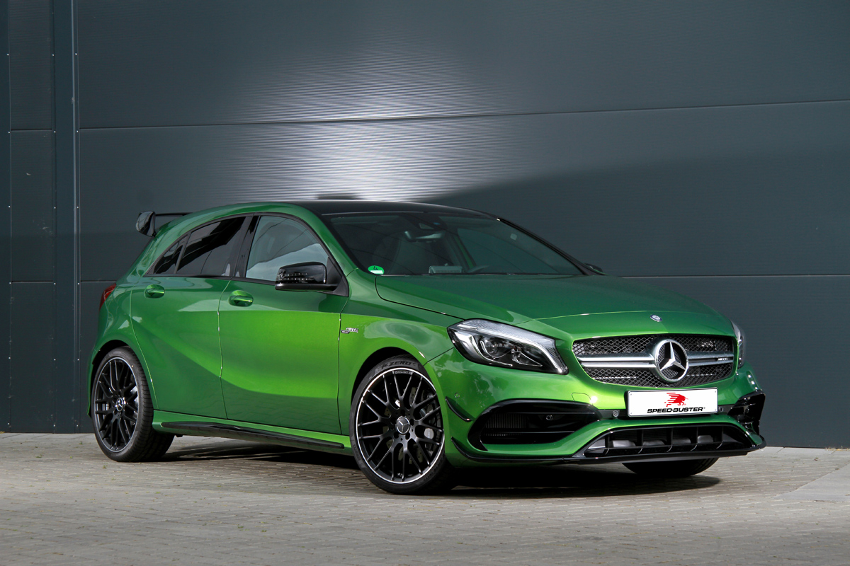 Speed Buster Turns The Mercedes Amg A45 Up A Few Notches