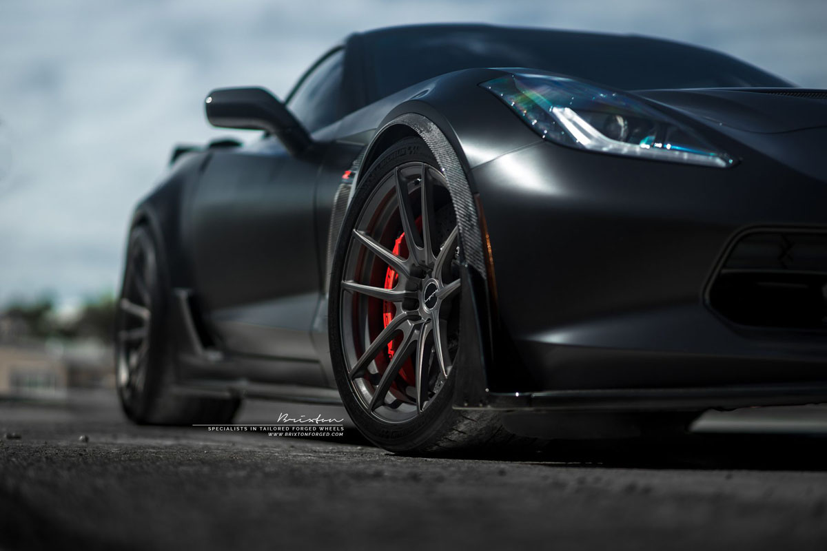 Chevrolet Corvette Z06 with Brixton Forged M53 Ultrasport+ Wheels by ACG Automotive