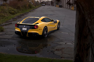 SR Auto Group Ferrari F12Berlinetta with Novitec Rosso NF3 wheels