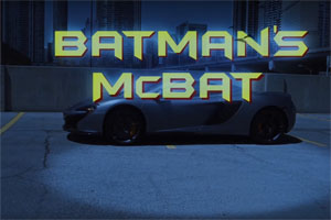 Batman should Daily Drive a McLaren 650S Spider